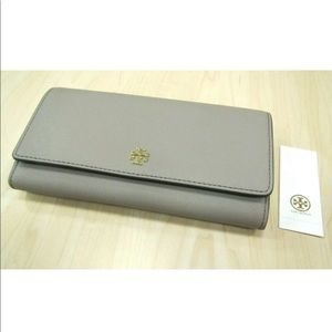 Tory Burch Emerson Envelope Wallet NWT